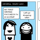 Freelance Writing Woes #4: First Paycheck