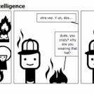 la casquette de l'intelligence