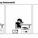 Why I haven't got my homework