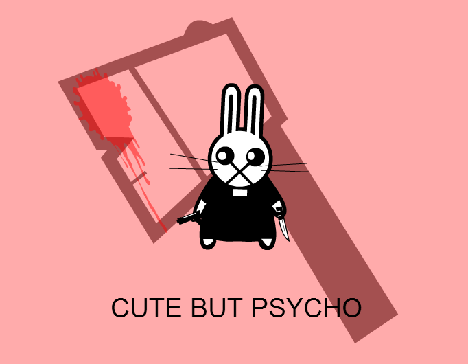 Cute rabbit?