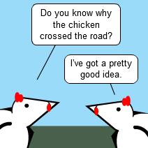 Hen-side Joke