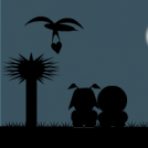 Who is on the moon light