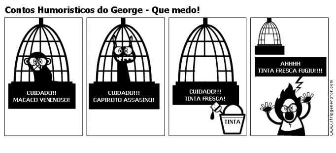 Contos Humoristicos do George - Que medo!
