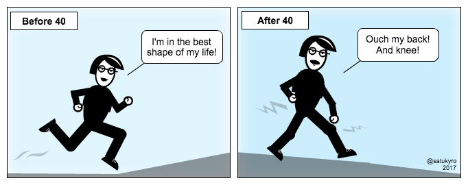 Cartoon: before and after 40