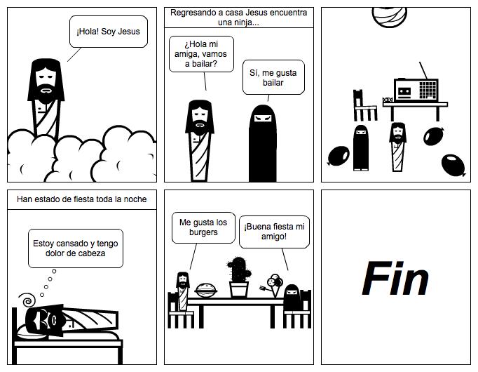 Jesus encuentra una ninja