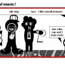 I like classical music!