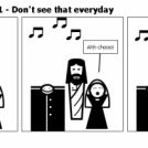 Elevator Comic # 11 - Don't see that everyday