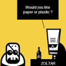 PAPER or PLASTIC ?