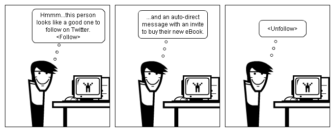 Auto Direct Messages On Twitter