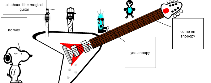 magical guitar