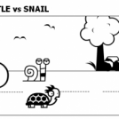 WHO'S FASTER? TURTLE vs SNAIL