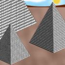 Three Pyramids