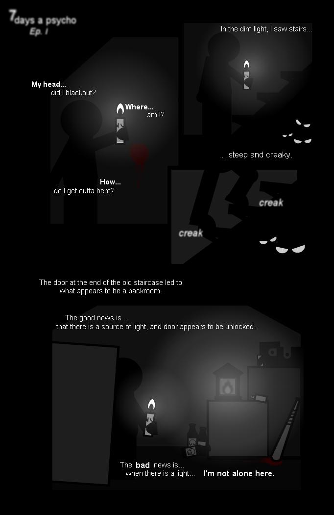 7 Days a Psycho: Episode 1