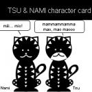 Tsu & Nami character card