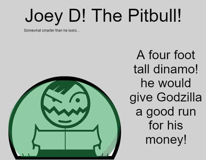 The Pitbull