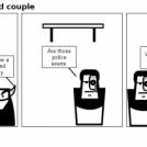 Hero and Villain odd couple