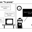 Super nimo em &amp;quot;Tv presta&amp;quot;