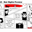 Elevator Comic # 118 - Noir Nights Preview