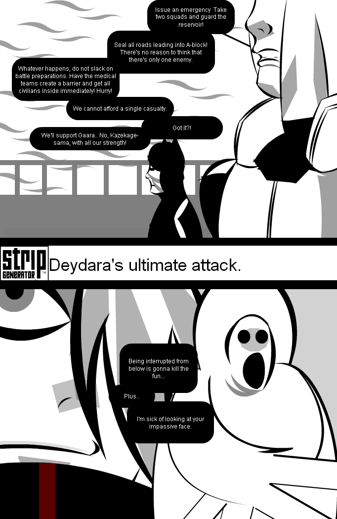 Deidara's ultimate attack.