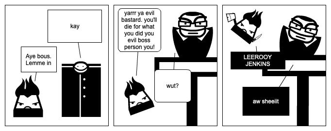 evil dude dies
