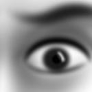 Scared eyes
