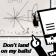 Don't land on my balls!
