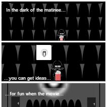 Bad joke (Dark of the matinee)