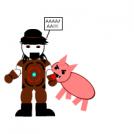Farmer vs pig part one