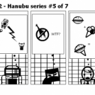 Elevator Comic # 92 - Hanubu series #5 of 7