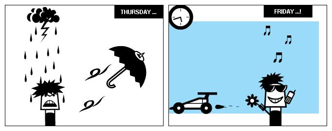 2nd part of weekdays
