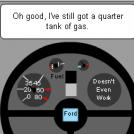 Deceiving Fuel Gauge