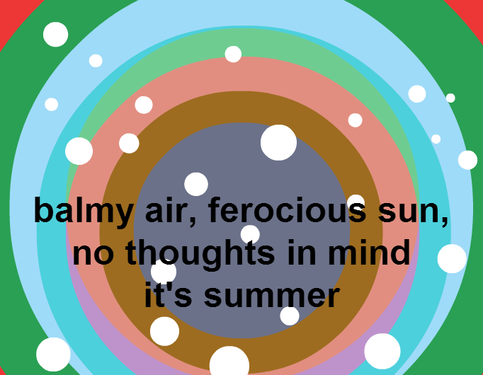 Summer thought