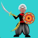 Xarq-al-Andalus. Mairuen armak. Moorish weapons.