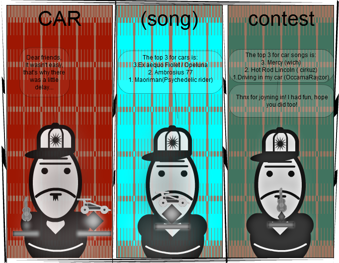 Car(song) Contest Winners