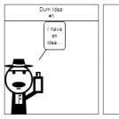 Dum Idea #1 (ComicMunnkey)