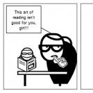 Crazy librarian