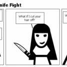 One Tire Short: Of a Knife Fight