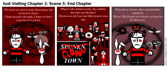 Just Visiting Chapter 2: Scene 5: End Chapter