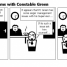 Cop Capers - Problems with Constable Green