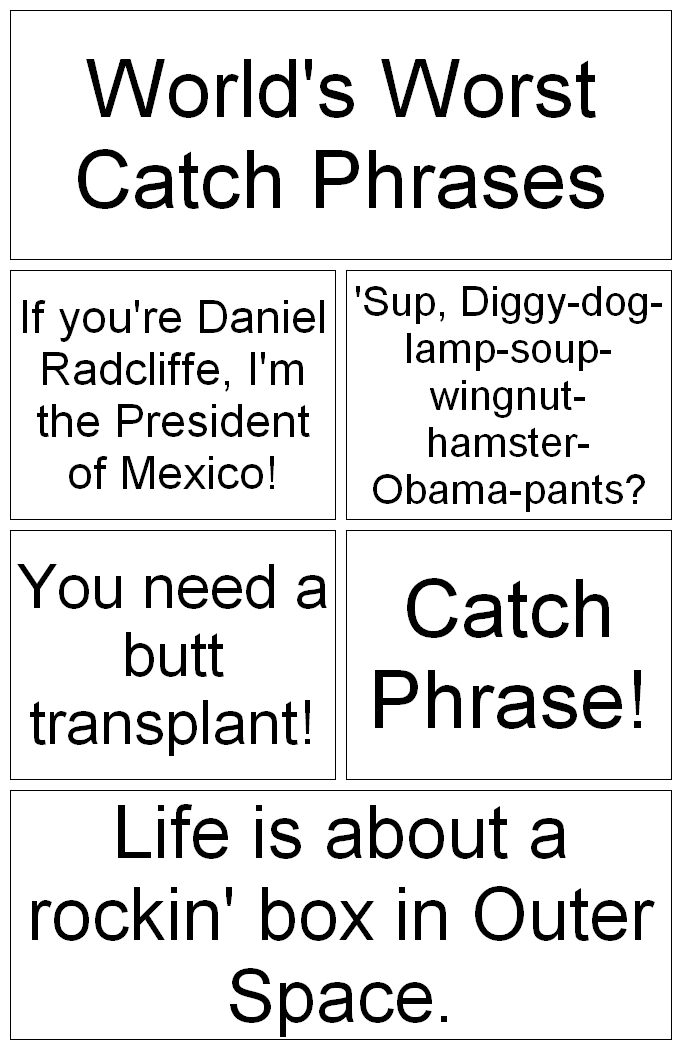 Good Catch Phrases For Dating Websites