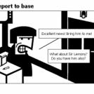 Bill the Klingon - Report to base