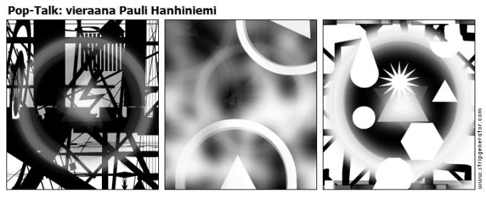 Pop-Talk: vieraana Pauli Hanhiniemi