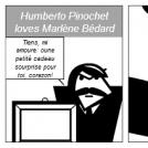 Humberto Pinochet loves Marlène Bédard