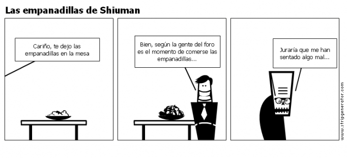 Las empanadillas de Shiuman