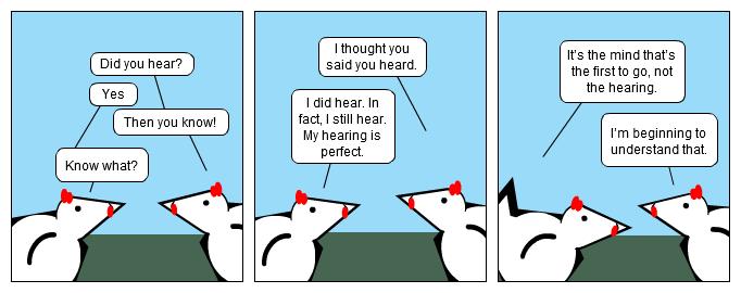 Sometimes It's Heard...