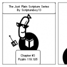 The Just Plain Scripture Series/ Chapter # 3