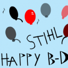 Happy birthday Stihl