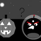 Angry birds on halloween