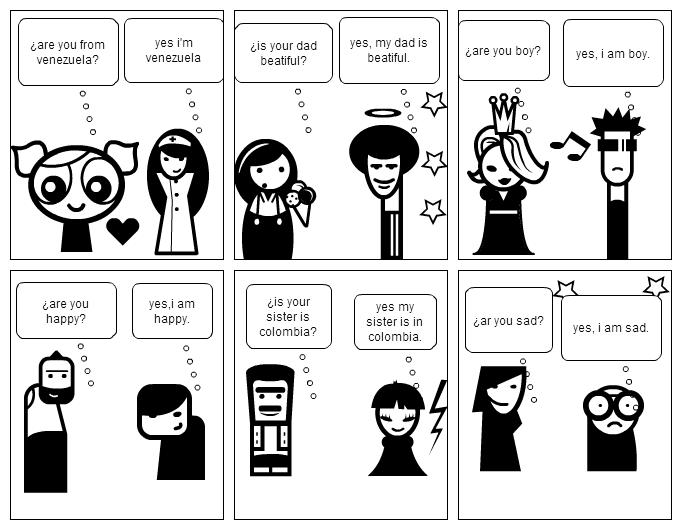 Una historieta sobre el bullying - Imagui