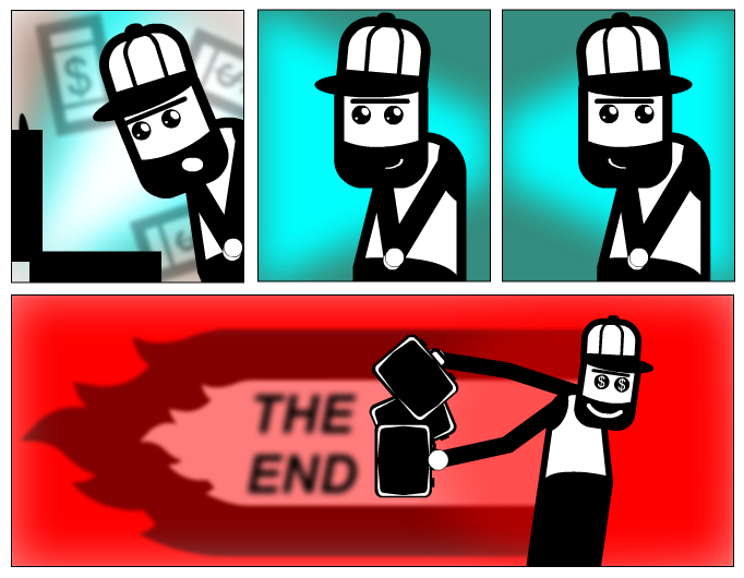 Bank job - The End